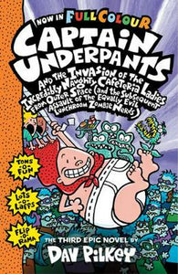 LIBRO THE CAPTAIN UNDERPANTS THE THIRD