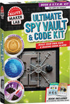 LIBRO KLUTZ MAKE LAB ULTIMATE SPY VAULT & CODE KIT