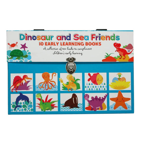 LIBRO DINOSAUR AND SEA FRIENDS