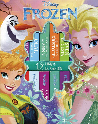 LIBRO  FROZEN EVERGREEN