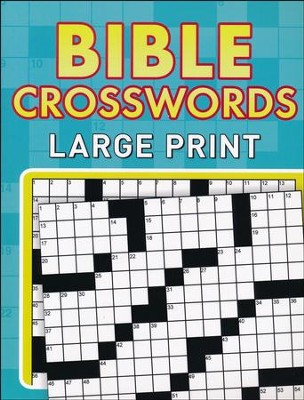 LIBRO BIBLE CROSS WORDS LARGE PRINT