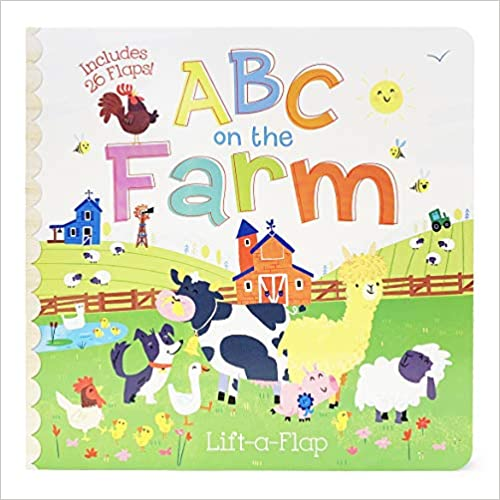 LIBRO ABC ON THE FARM