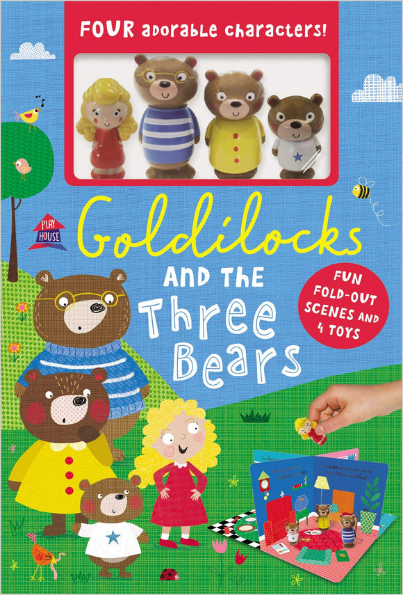 LIBRO GOLDILOCKS AND THE THEE BEARS