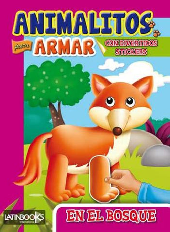 LIBRO ANIMALITOS P/EL BOSQUE