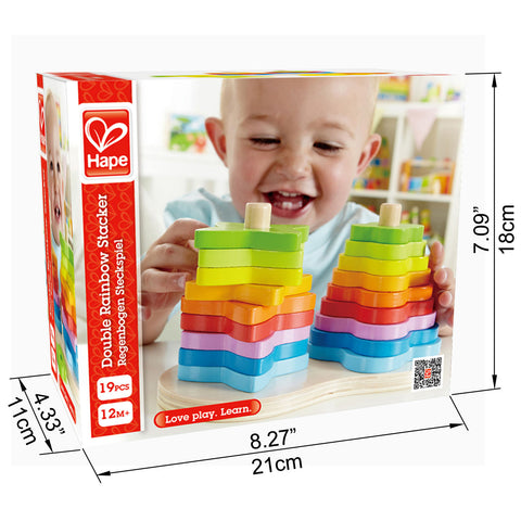 JUGUETE EDUCATIVO DOUBLE RAINBOW HAPE