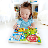 JUGUETE EDUCATIVO BEST BUGS MAGNETIC MAZE HAPE