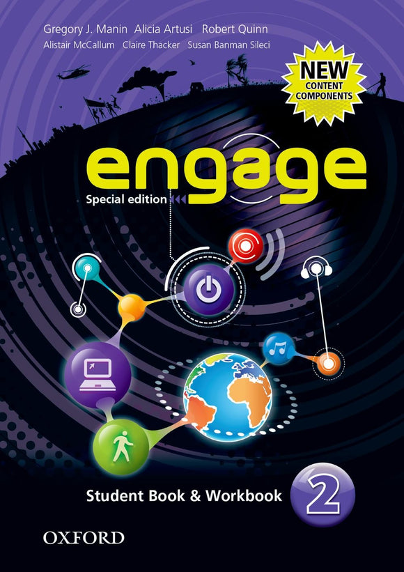 LIBRO ENGAGE-STUDENT BOOK & WORKBOOK NIVEL 2