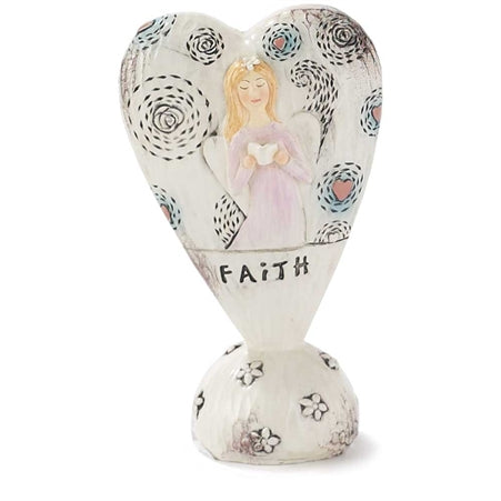 FIGURA ANGEL CONBIBLIA FAITH