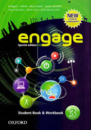 LIBRO ENGAGE-STUDENT BOOK & WORKBOOK NIVEL 3