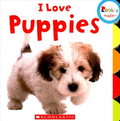 LIBRO I LOVE PUPPIES