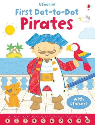 LIBRO-FIRST DOT-TO-DOT PIRATES