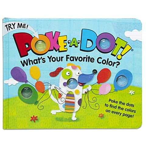 LIBRO POKE A DOT WHATS YOUR FAVORITE COLOR