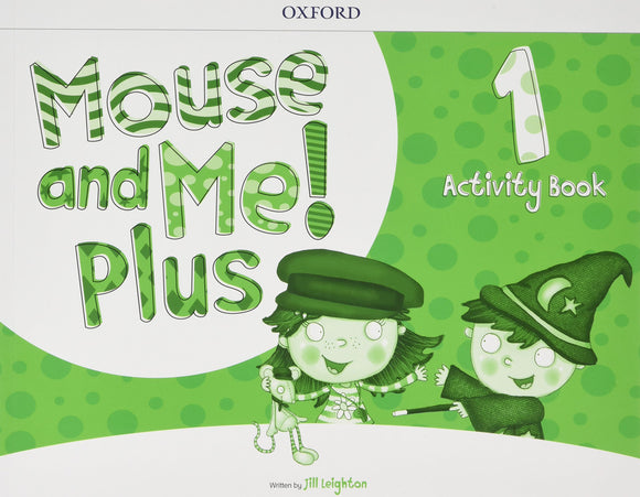 LIBRO MOUSE AND ME PLUS ACTIVITY BOOK NIVEL 1