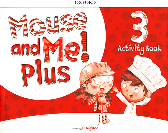 LIBRO MOUSE AND ME PLUS ACTIVITY BOOK-NIVEL 3
