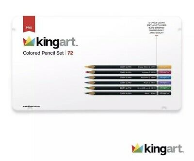 SET DE LAPICES DE COLORES A BASE DE ACEITE KINGART