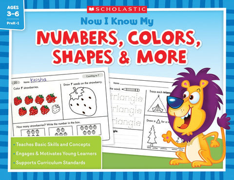 LIBRO- NUMBERS COLOR SHAPE