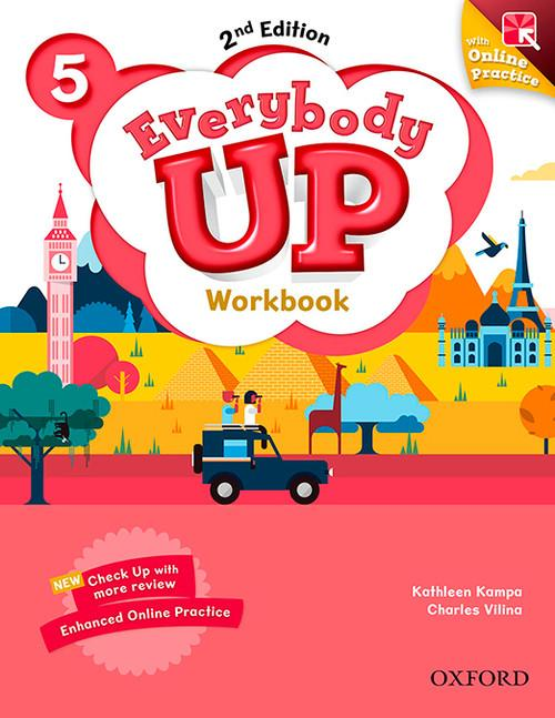 LIBRO EVERYBODY UP WORKBOOK- NIVEL 5  2ND EDICION