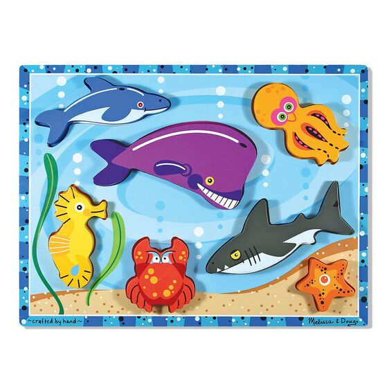 ROMPECABEZA SEA CREATURES 7PC M&D