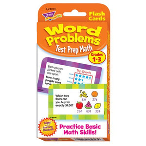 WORD PROBLEMS TEST PREP MATH TREND