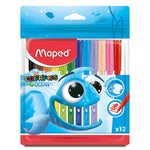 Marcadores Maped 12 Colorpepes