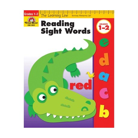 LIBRO READING SIGHT WORDS GRADO 1-2