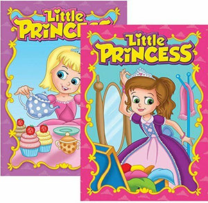 LIBRO P/ COLOR Y ACTIVID LITTLE PRINCESS
