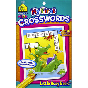 LIBRO LITTLE BUSY BOOK MY FIRT CROSSWORD