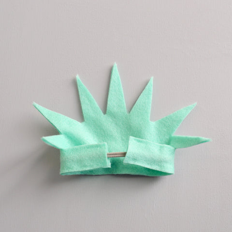 Lady liberty crown diy