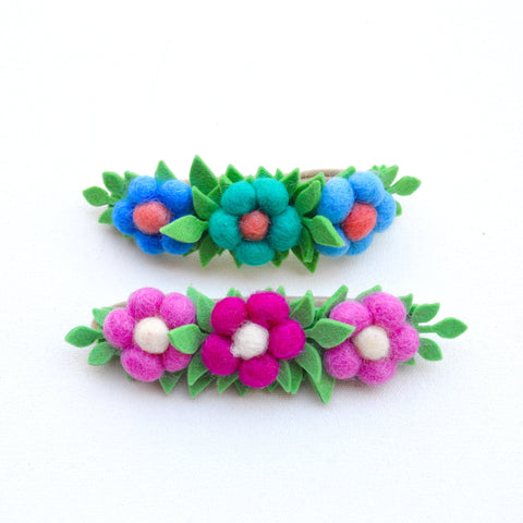 Triple Flower Headbands