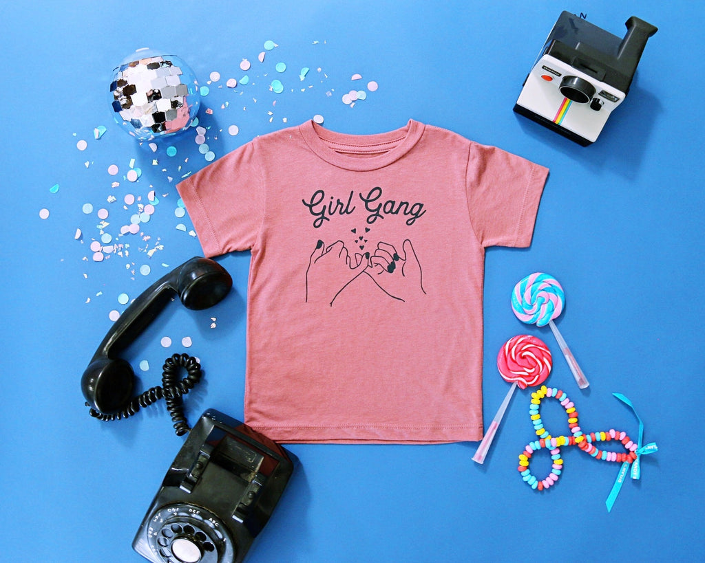 The Girl Gang Tee, Mauve