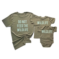 Don't Feed The Wildlife Adult Tee