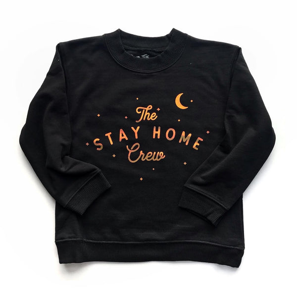 Stay Home Crew Pullover