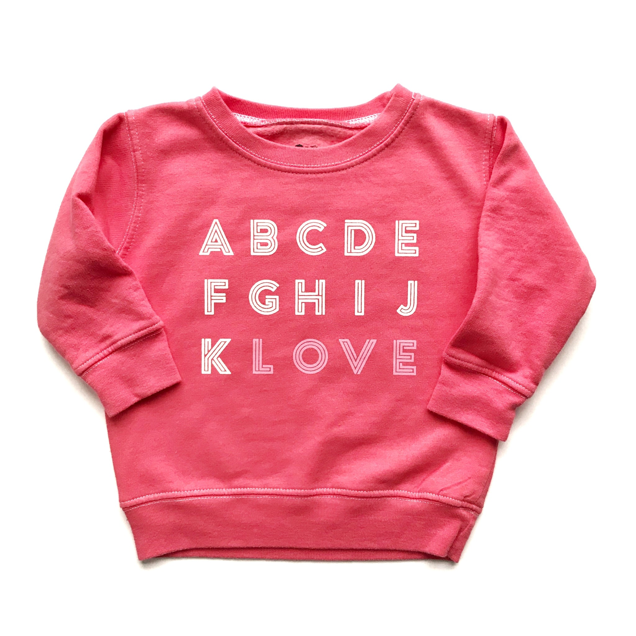 Coral Pink ABCD