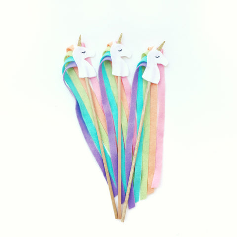 Unicorn Party Wand