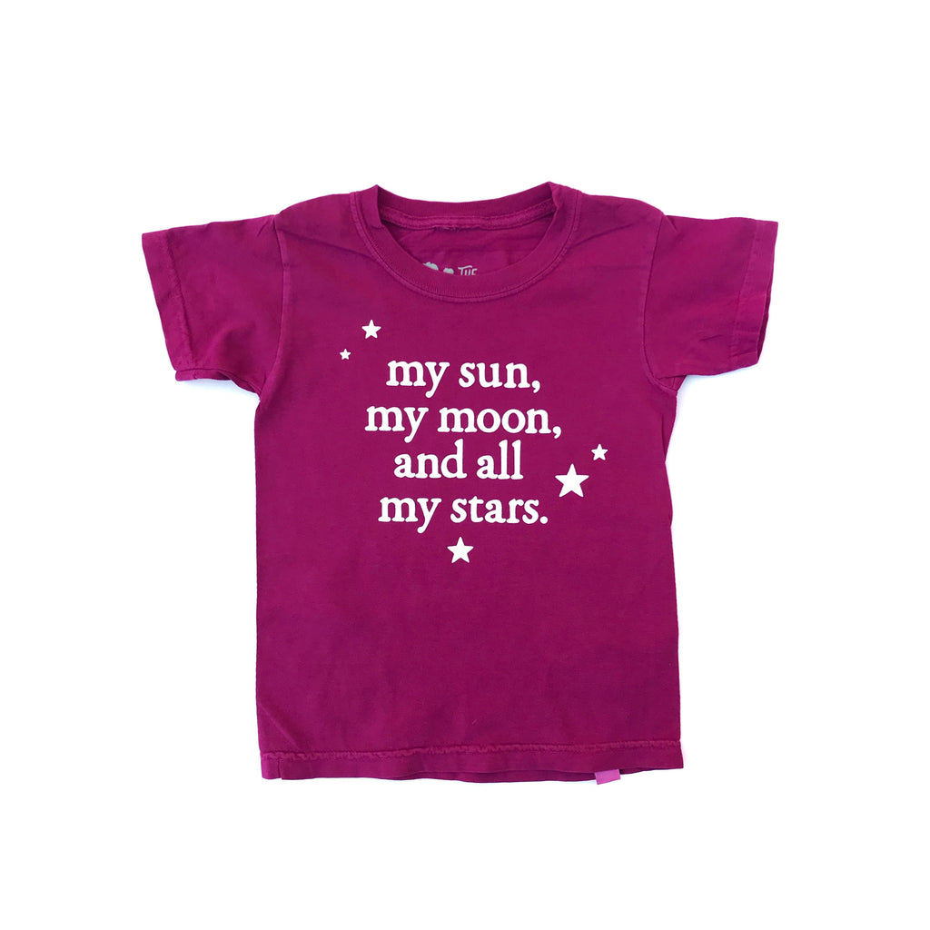 Boysenberry Tee My Sun, My Moon and All My Stars