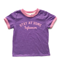 Stay at Home Influencer RINGER tee!