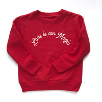 Red Love is our Magic, pullover
