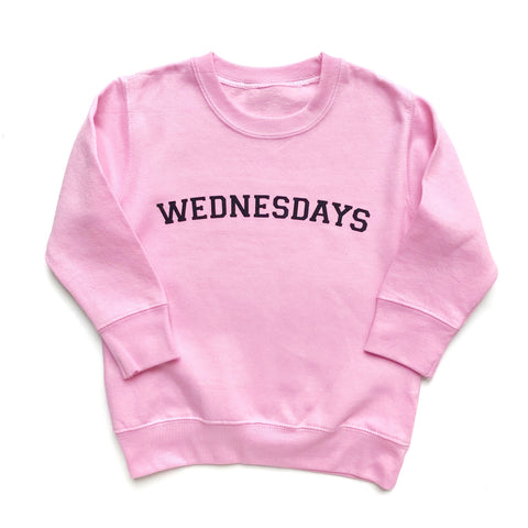 We Wear Pink, Wednesdays sweatshirt