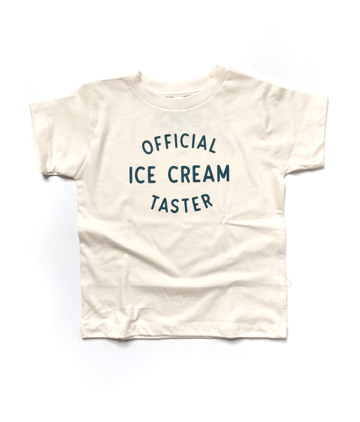 Official Ice Cream Taster, natural