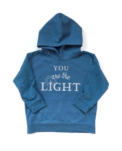 You Are the Light, Blue Hoodie