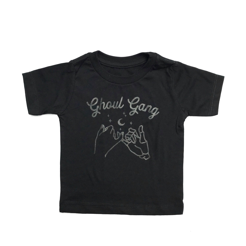 Ghoul Gang Tee, BLACK