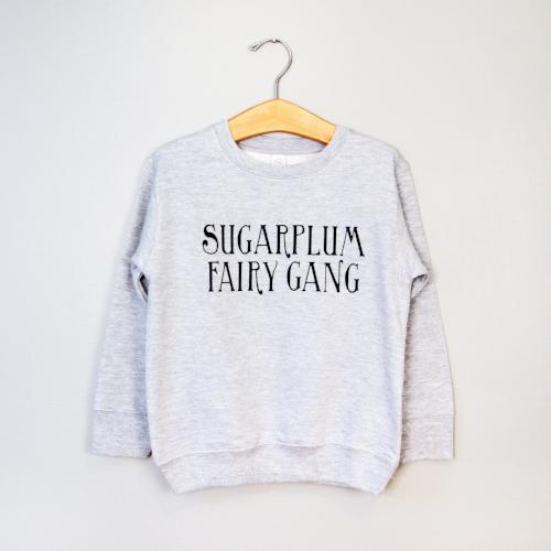 Sugarplum Fairy Gang, Crewneck Sweatshirt