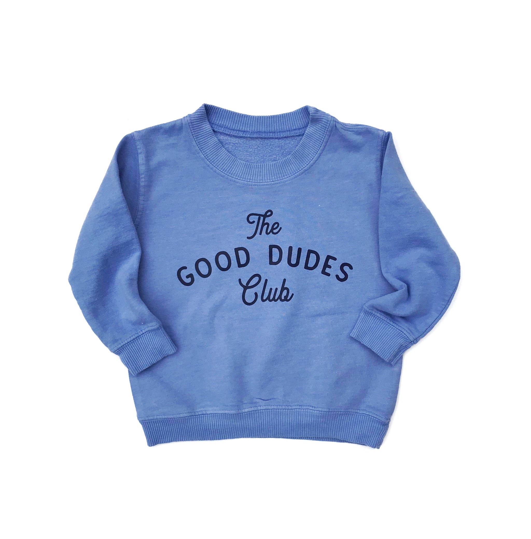 SMALL BATCH // The Good Dudes Club in Blue