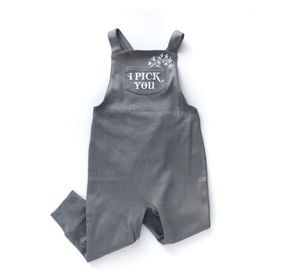 I Pick You Overalls