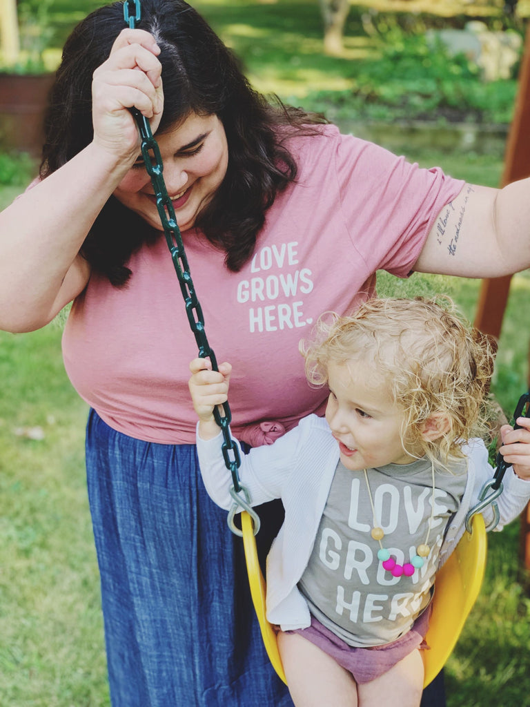 Love Grows Here, Adoption Fundraiser Tee