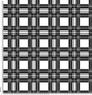 C003 Black white Tartan check.