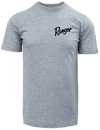 RGR72 - Graphic S/S Tee - Heather Grey - Gone Fishing (Red)