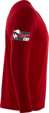 RGR151 *Ranger Cup* Performance LS Crew -Red Hot