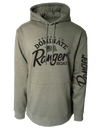 Pullover Hoodie - Olive-Driven to Dominate