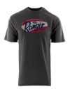 RGR55 - Graphic S/S Tee - Charcoal Heather - Distressed Logo
